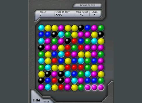 Bubble breaker игра
