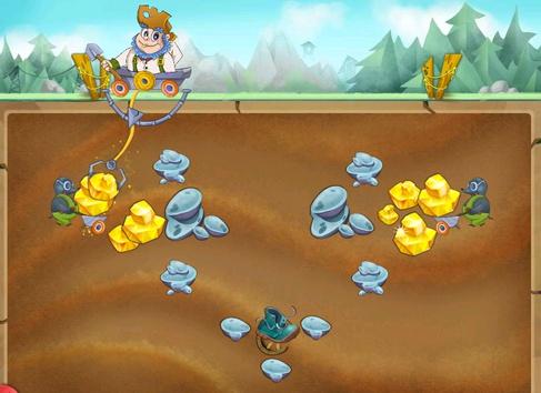 игра золотоискатель из денег