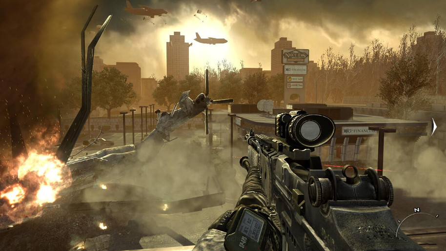 Call of Duty: Infinite Warfare sales down almost 50